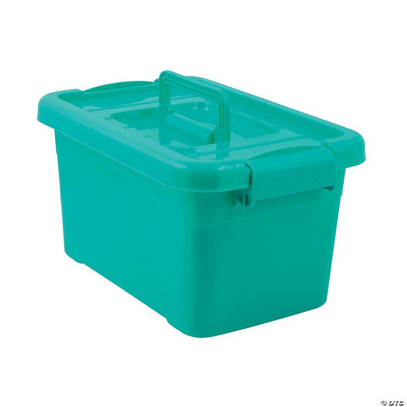 A must-have addition to teacher supplies, these sturdy storage bins with locking lids are everything you need to keep organized throughout the school year. ...