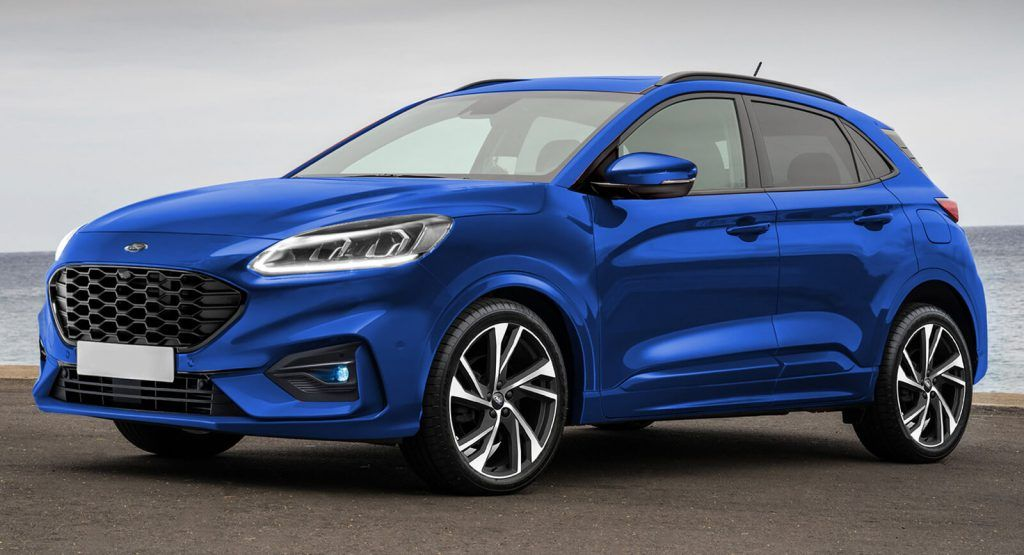 Soon To Be Revealed 2020 Ford Puma Small Suv Rendered Without The Bug Eyes Small Suv Ford Puma Suv