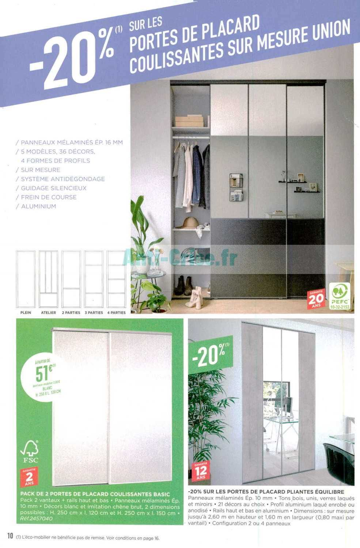 Catalogue Lapeyre Du 04 Au 30 Mars 2020 Catalogues Promos Bons Plans Economisez Anti Crise Fr En 2020 Porte Placard Porte Fenetre Lapeyre