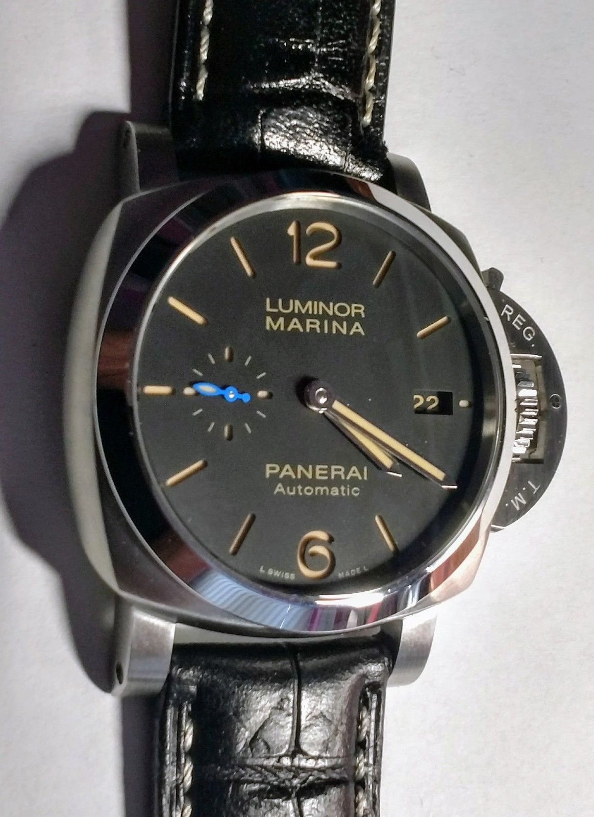 OFFICINE PANERAI PAM 1392 Luminor Marina 1950 3 Days Auto/ Box , Warranty  Card