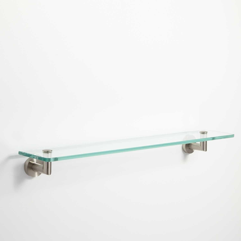 Small Glass Shelf Bathroom. bathroom narrow shelves small glass very ...