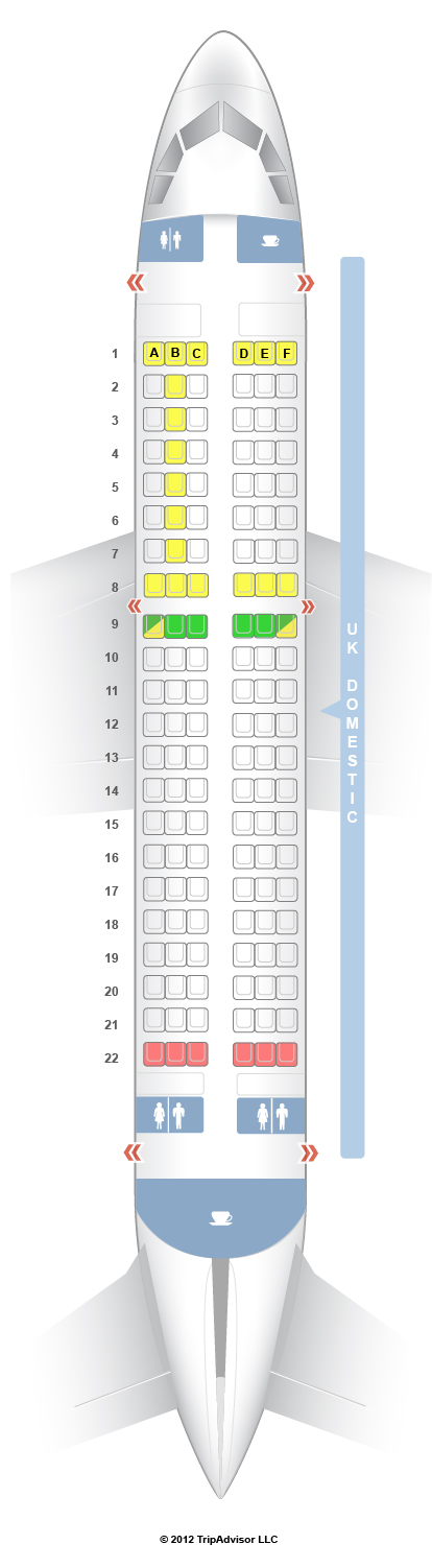 US Airways Airbus A Seat Map Travel Pinterest Planes - Us airways seating map