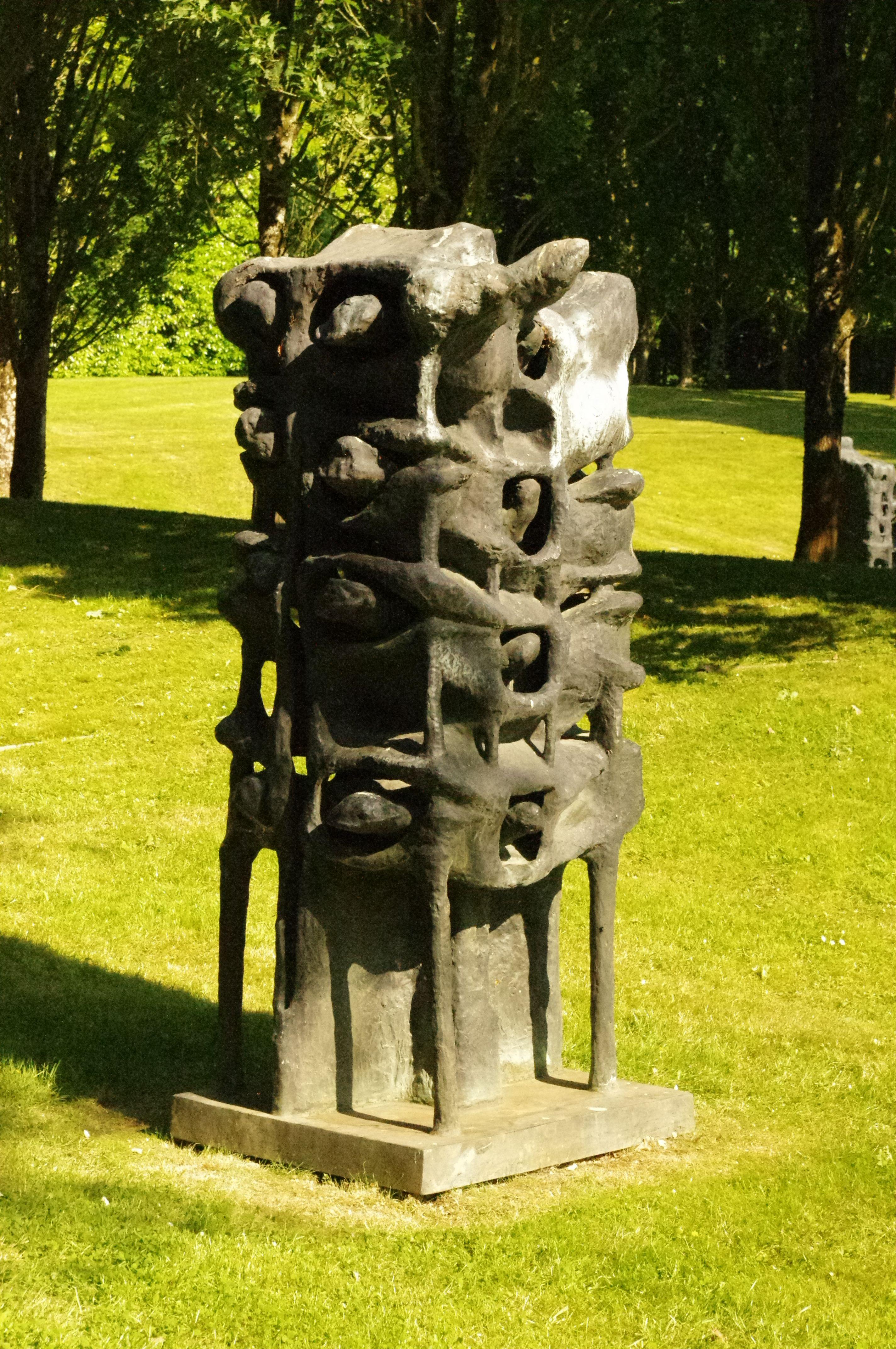 Le Bois Orcan L Athanor Parc De Sculpture D Etienne Martin