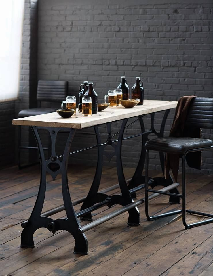 Furniture In Knoxville   Urban Décor   Industrial Rustic Console Table    Loft Living   Bradenu0027s Lifestyles Furniture   Interior Design   The Design  Center ...
