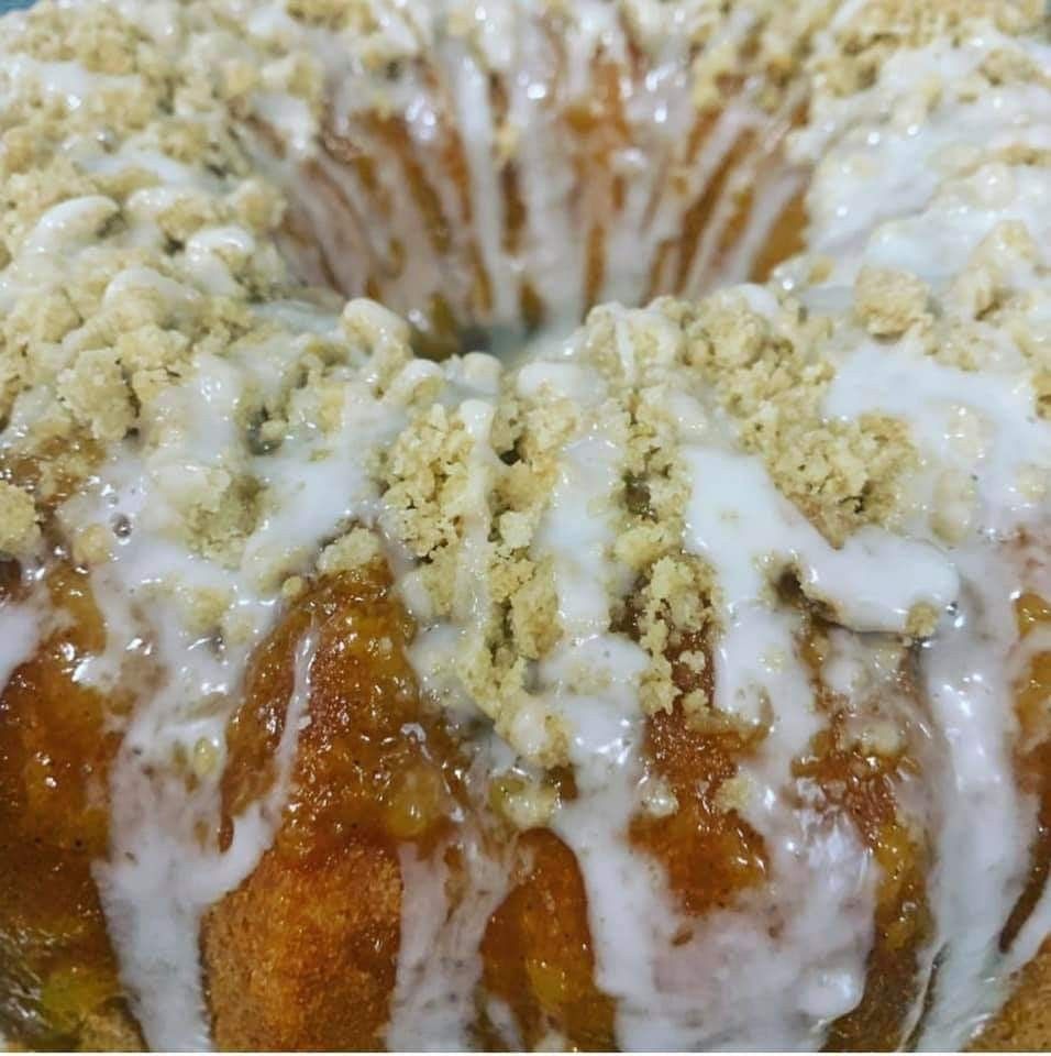 Peach cobbler pound cake with a homemade butter crumble glazed with a Hennessy Butter Glaze... #peachcobblerpoundcake Peach cobbler pound cake with a homemade butter crumble glazed with a Hennessy Butter Glaze... #peachcobblerpoundcake Peach cobbler pound cake with a homemade butter crumble glazed with a Hennessy Butter Glaze... #peachcobblerpoundcake Peach cobbler pound cake with a homemade butter crumble glazed with a Hennessy Butter Glaze... #peachcobblerpoundcake