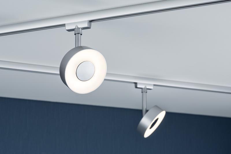 Spot Circle Led 5w Paulmann Eclairage Tableau Sur Rail Plafond