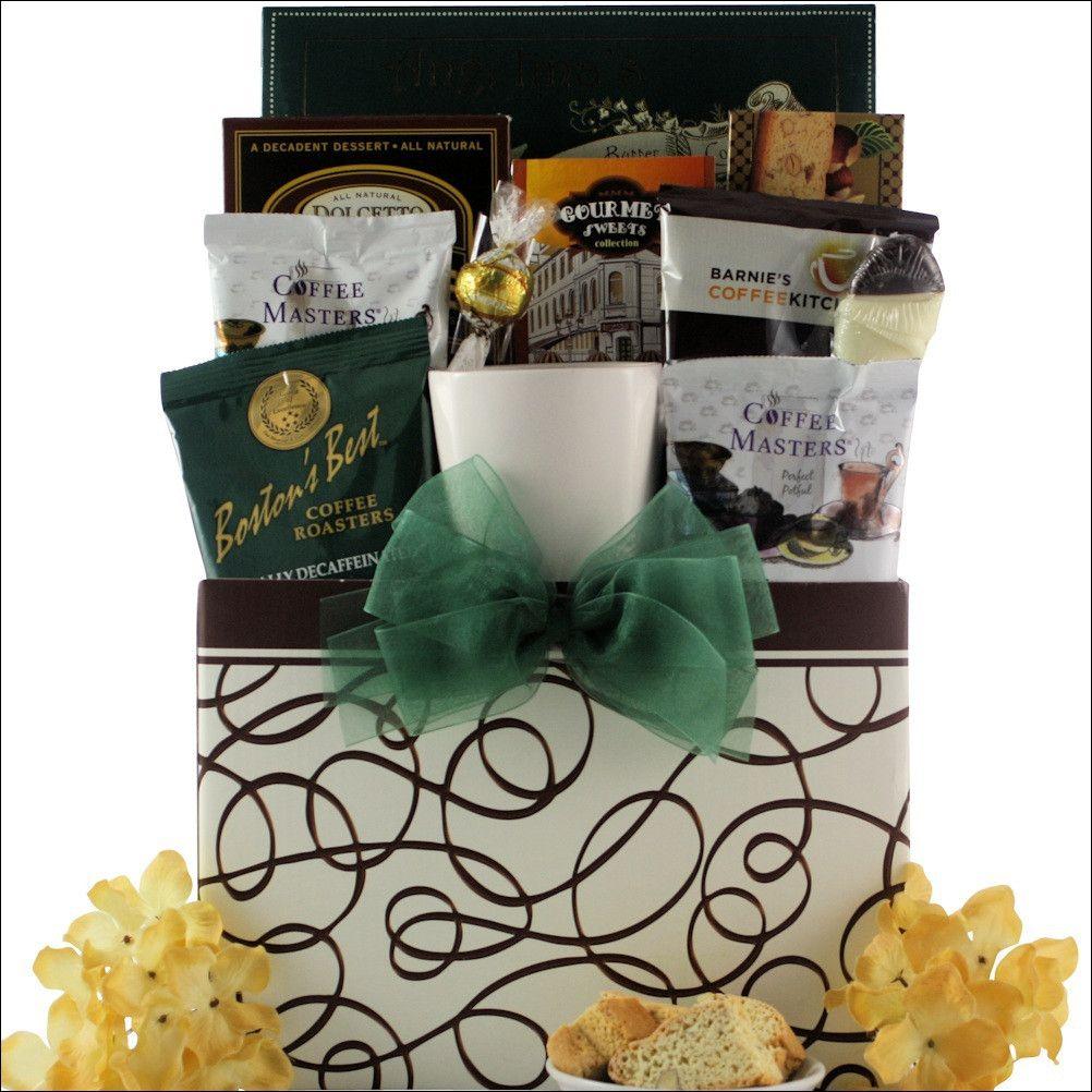 Java Express Gourmet Coffee Gift Basket Tea gift baskets