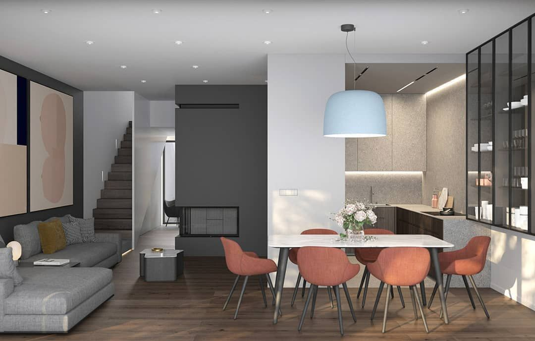 Design interior ui of house bedroom apartment also rh pinterest