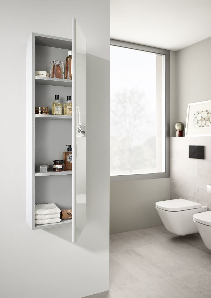 Roca Launches Their Updated Gap-N Bathroom Storage In On-trend ...