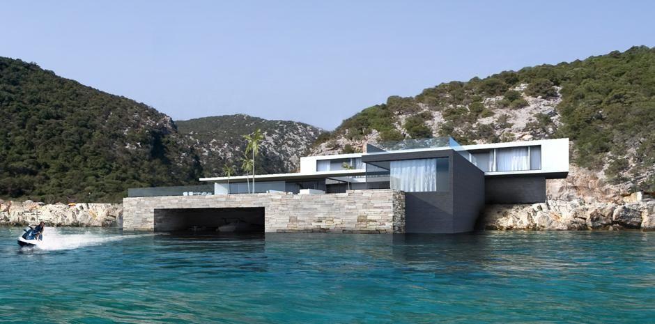 maison-moderne vieillard et fasciani - var - france   architecture ...