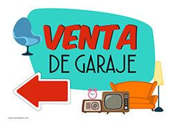 Letrero venta de garaje ventausados ventas segundamano for Se vende garaje