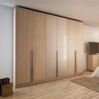 Gramercy Modern Freestanding Wardrobe Armoire Closet (Tatiana Midnight Blue)