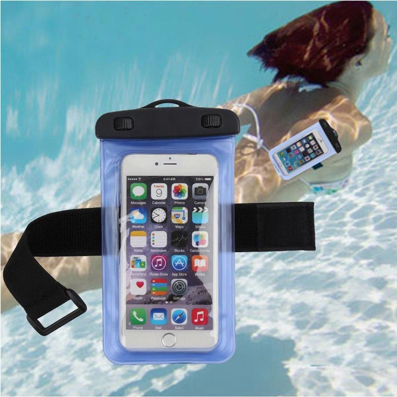 on sale ec65b 73be3 1.39AUD - Universal Waterproof Underwater Neck Armband Dry Bag Pouch ...