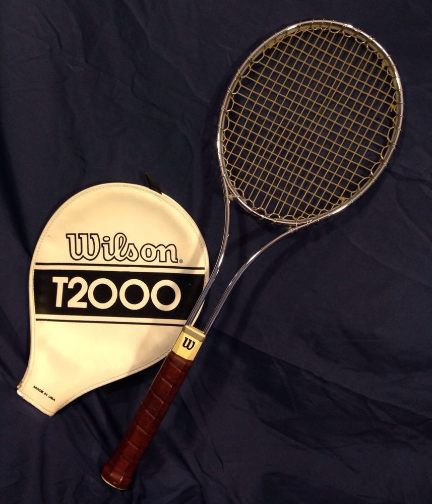 FRENCH OPEN IS TODAY !!! Memories ! Vintage Wilson T2000