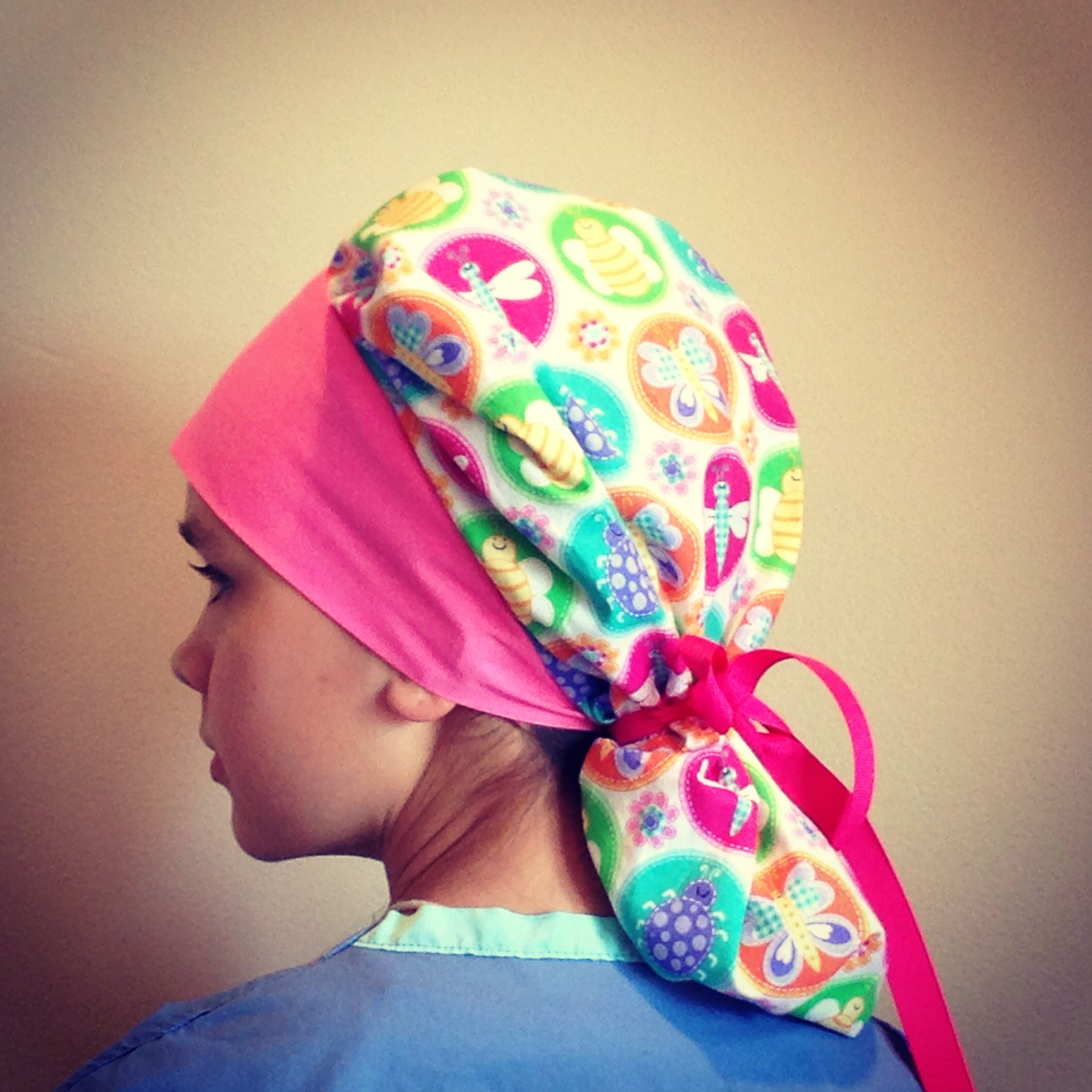 Scrub hat, surgical cap Www.alikaps.com | Scrub Hats | Pinterest