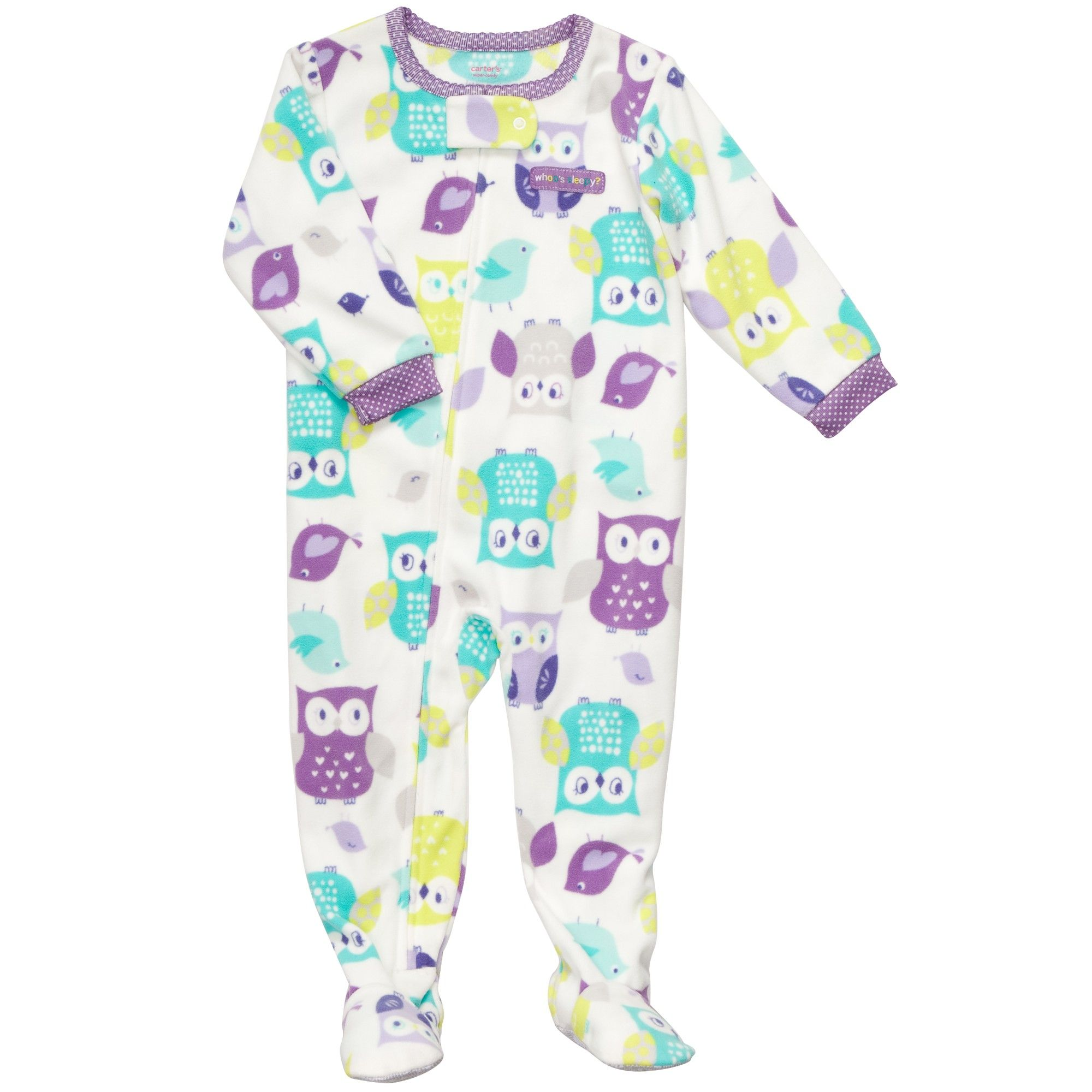 1 Piece Microfleece Pjs Baby Girl Up to off Sale