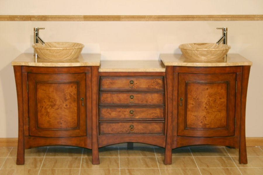 72 Inch Double Vessel Sink Bath Vanity With Drawers Bathroom Sinks For Sale Vessel Sink Vanity Double Vessel Sink Vanity Double sink bathroom vanity clearance