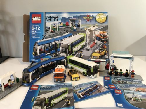 Lego 8404 With Original Box And Instructions With All Figures See