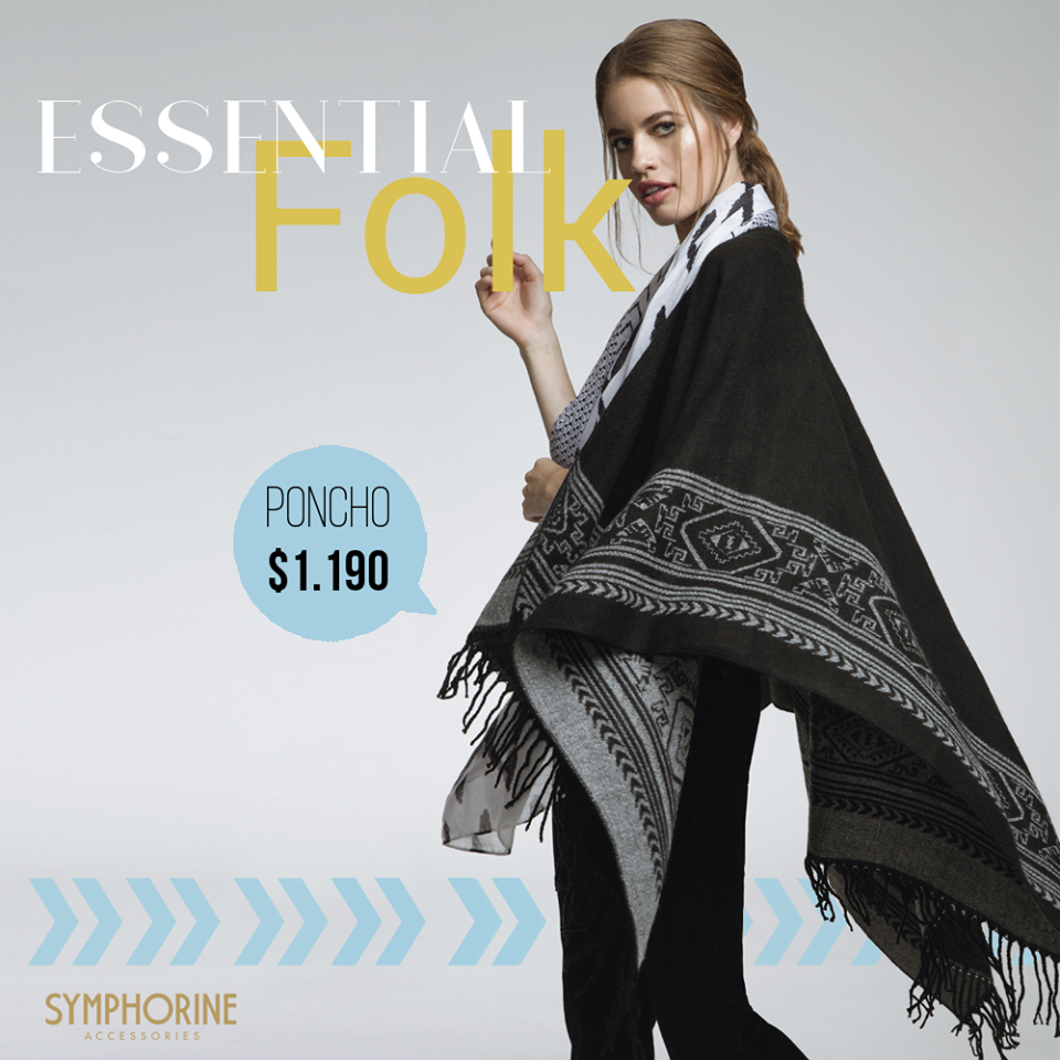 Enjoy #folkstyle Conocé los nuevos #ponchos de #Symphorine