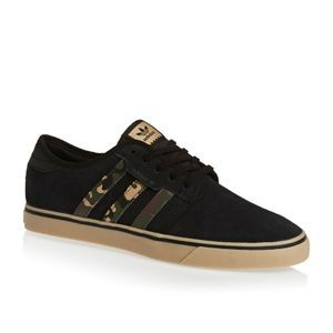 Adidas Originals Skate Shoes - Adidas Originals Seeley Shoes - Core Black/ Cardboard/Gum