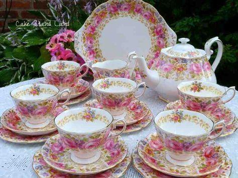 Vintage English Tea Sets And China