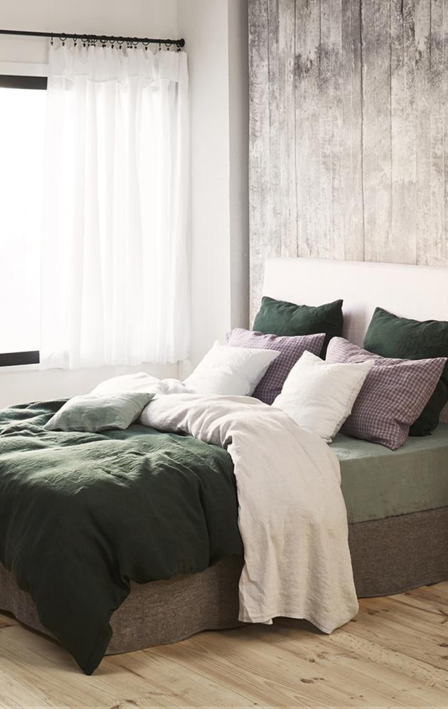 housses de couette en lin linge de lit en lin housses de couette design merci design en 2019. Black Bedroom Furniture Sets. Home Design Ideas