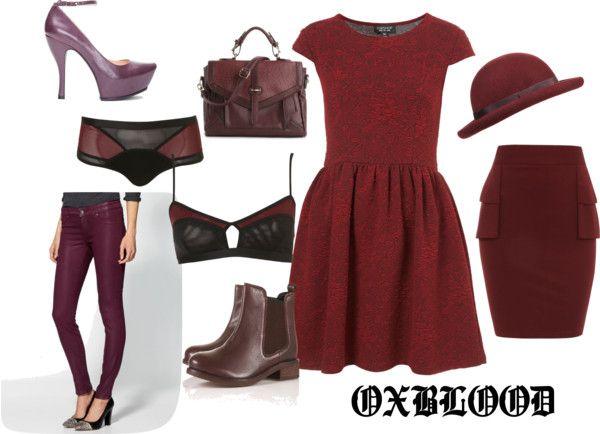 """OXBLOOD"" by artof-dress on Polyvore"
