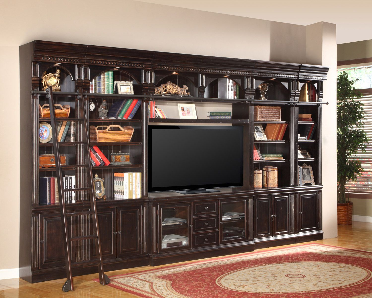 6 Pc Entertainment Center Wall | Parker House Furniture | Home Gallery  Stores