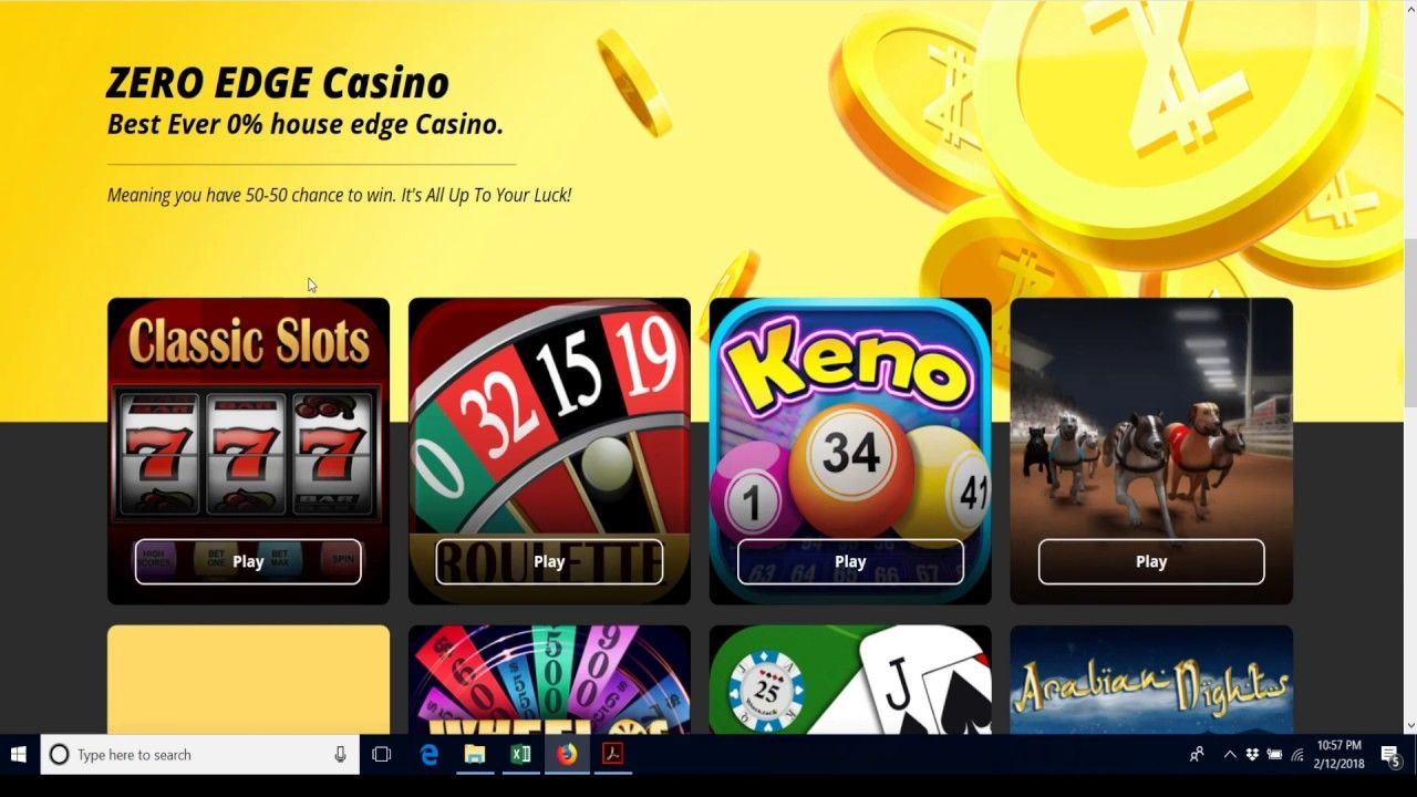 Online Casino Games House Edge