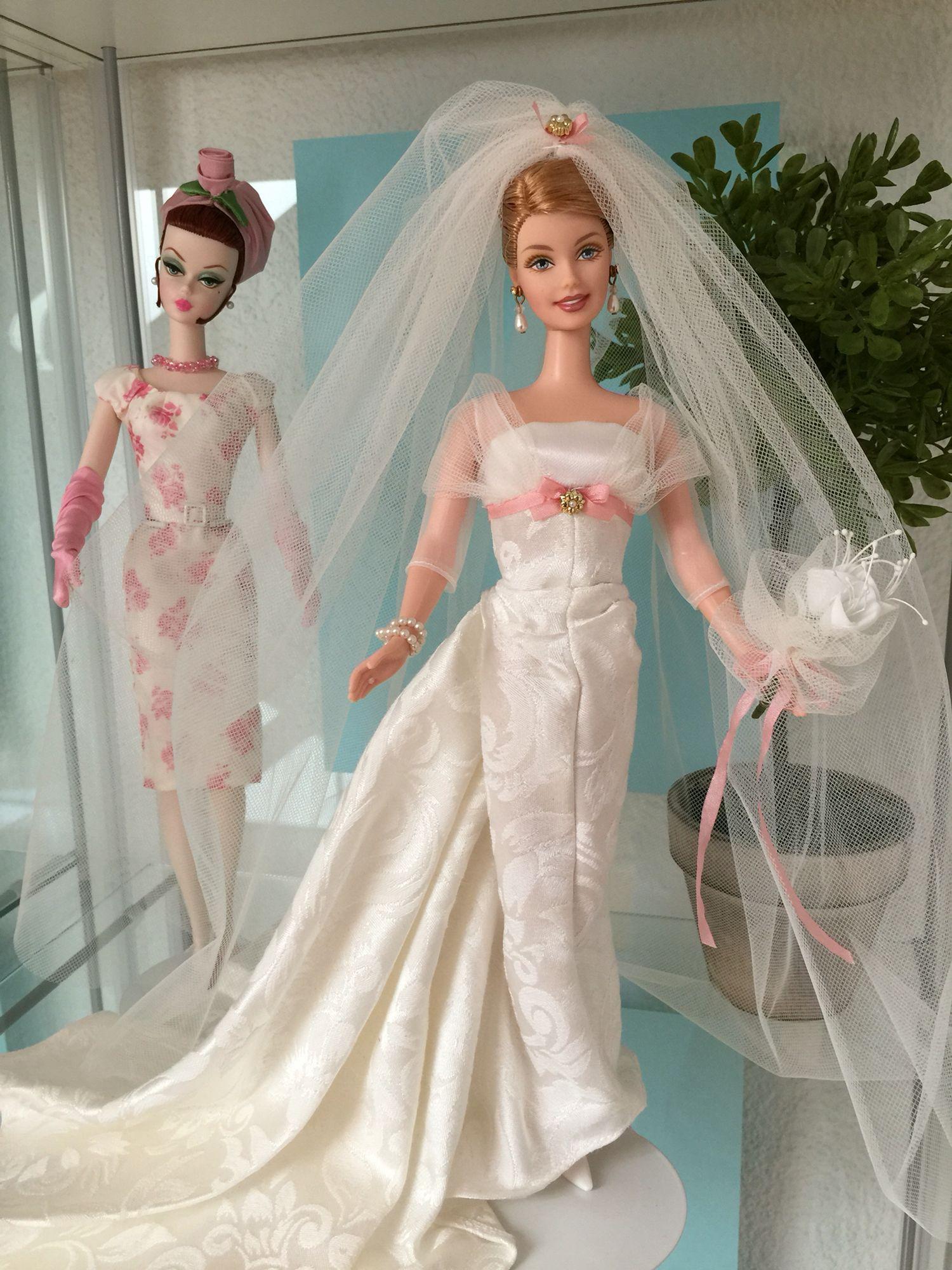 Pin by Angel on My Barbie Showcases  Barbie wedding dress, Barbie