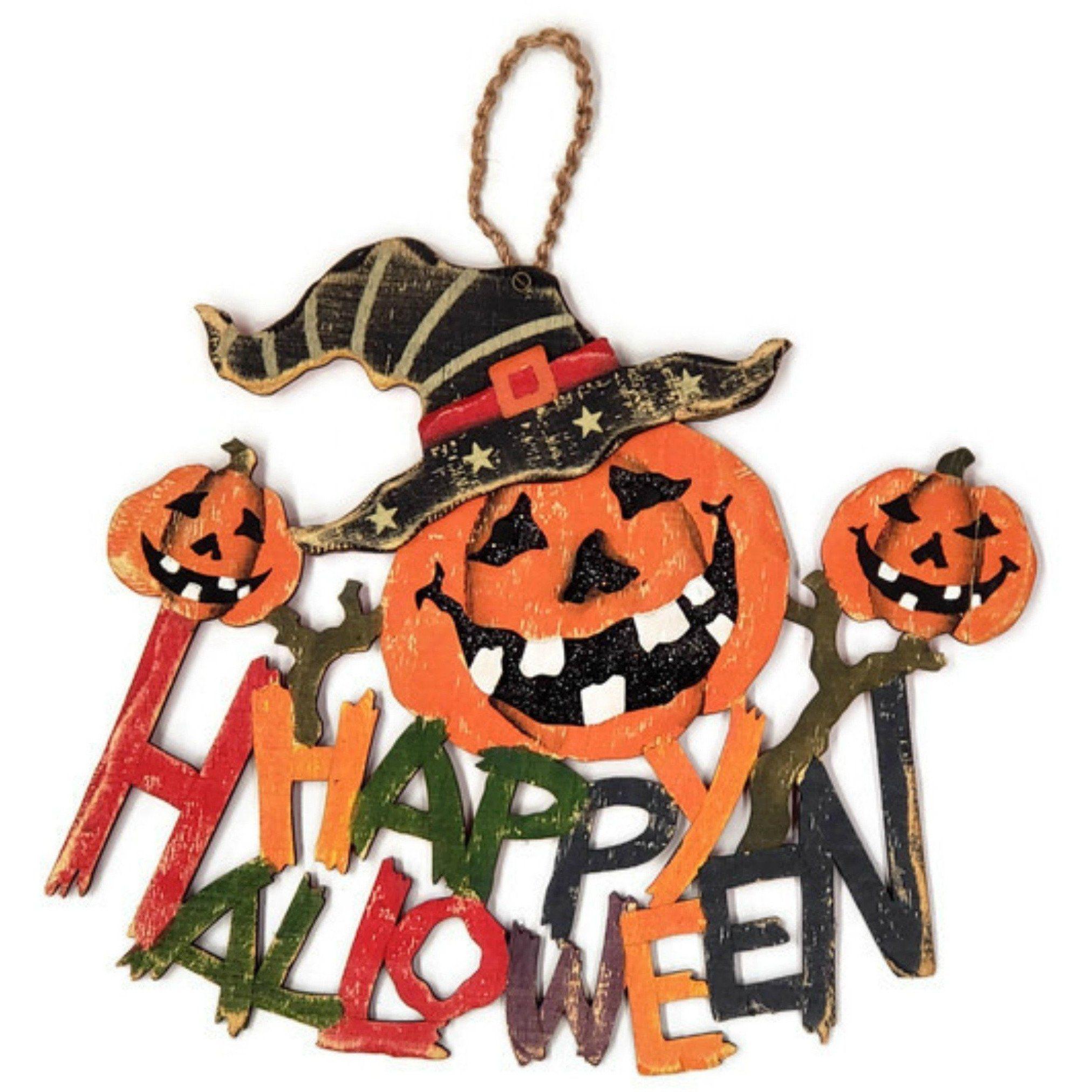 12 Plywood Vintage Halloween Sign Happy Halloween Halloween Signs Vintage Halloween Happy Halloween