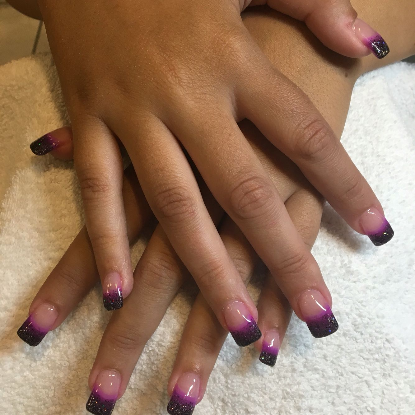 WWE Diva Paige inspired nails