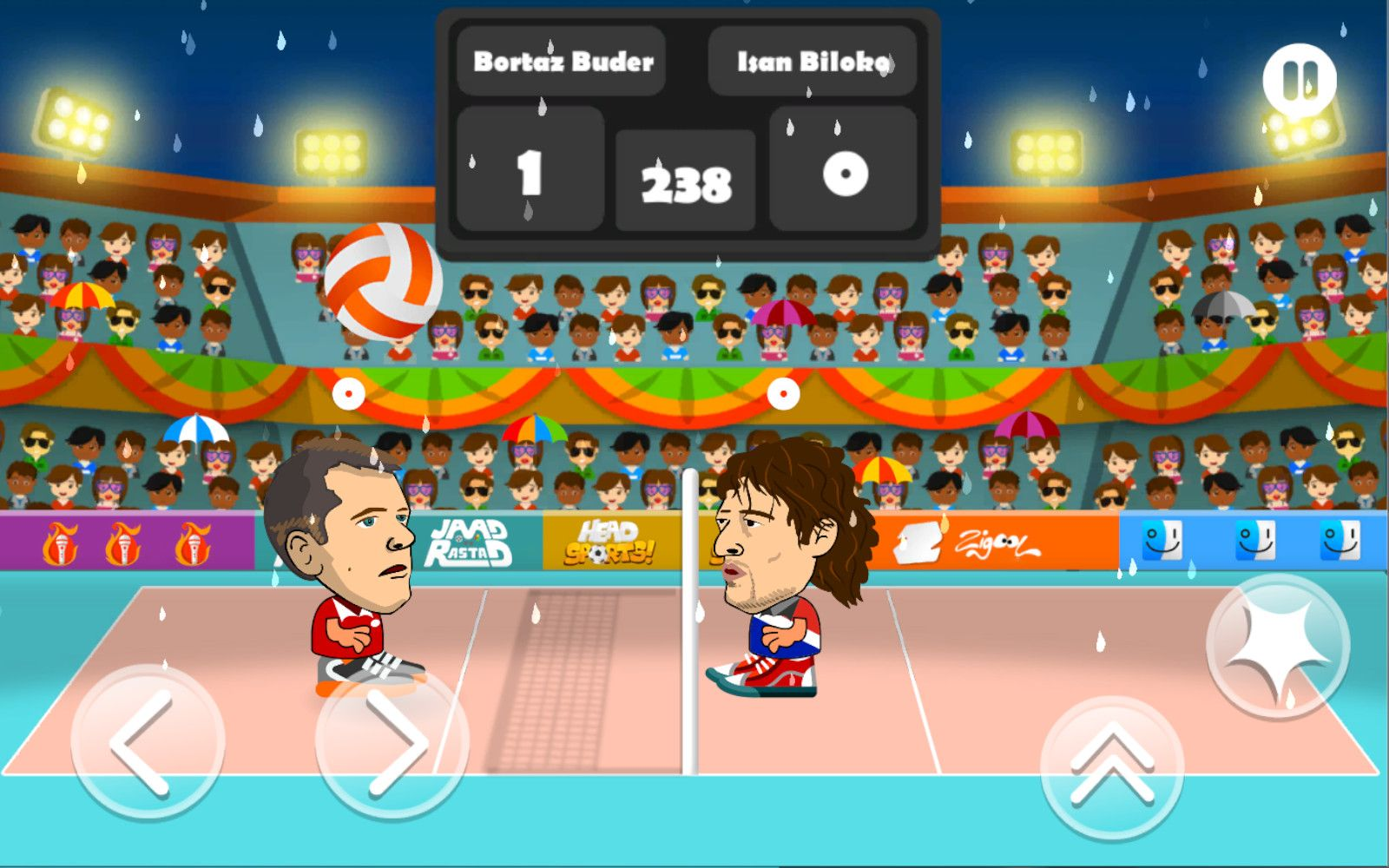 Head Sports Volleyball Unity Complete Project In 2020 Sport Games Sport Volleyball Unity