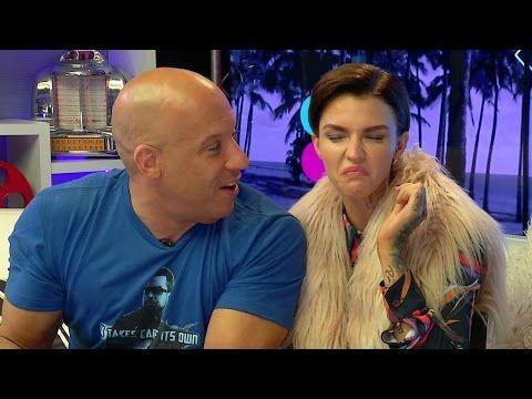 Vin Diesel Ruby Rose Do Bean Boozled Challenge Youtube Ruby