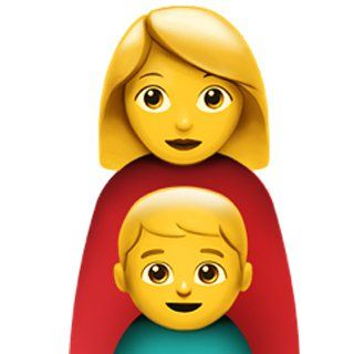 Single Mom Family Family Mom Single Mom Emoji