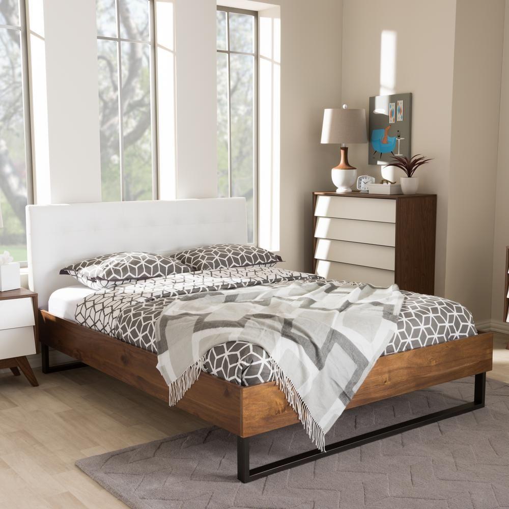 Mitchell Industrial platform beds, Metal platform bed
