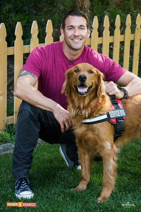 Today Brandon Mcmillan Stops By Home Family To Share His Service