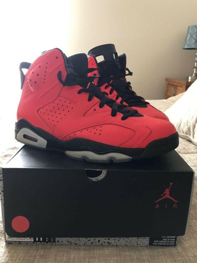 Rare Air Jordan 6 Retro Infrared 23 Toro Bulls 384664 623 Size 11 Air Jordans Nike Air Jordan 6 Jordan 6