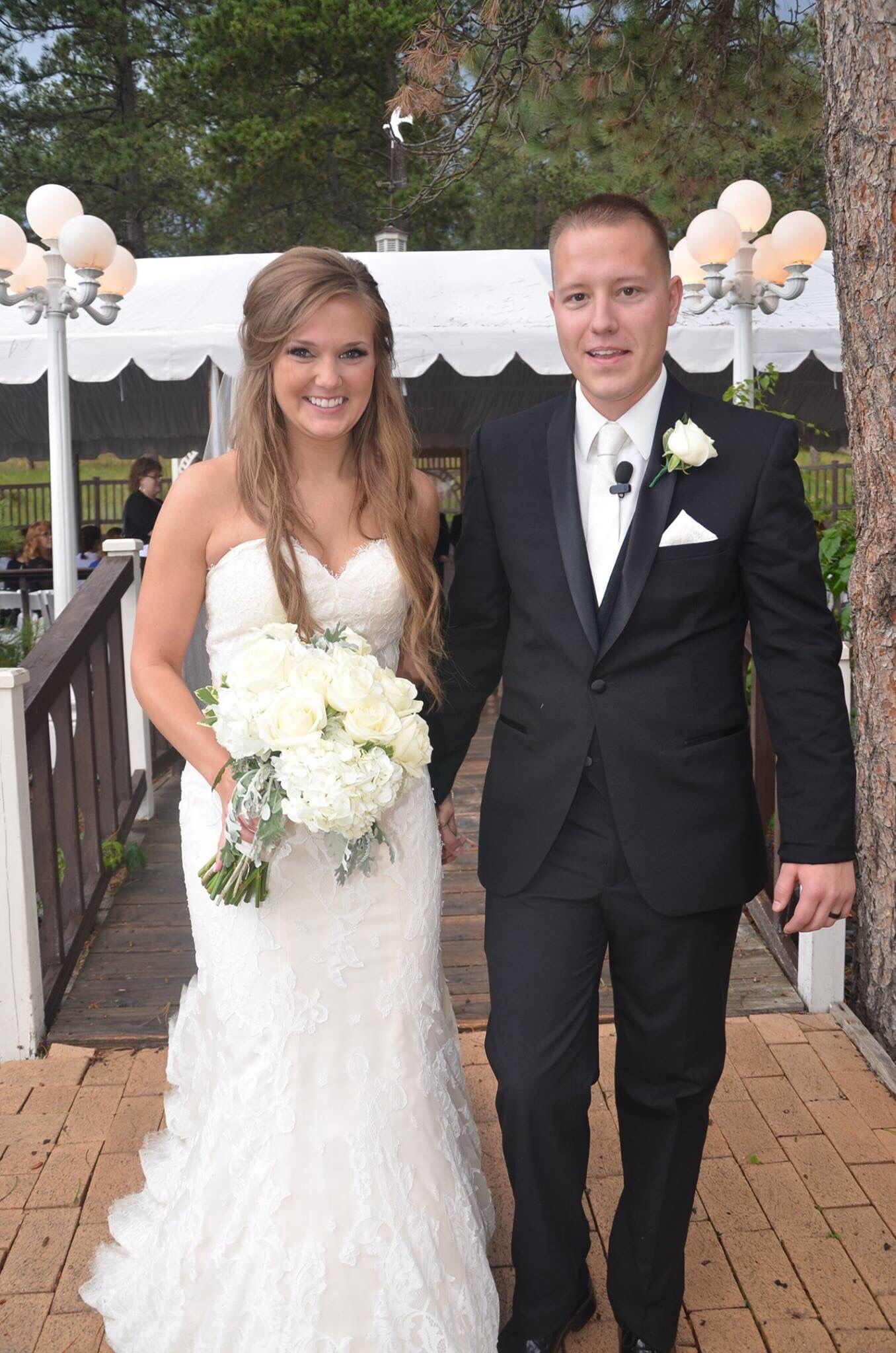 The new Mr and Mrs