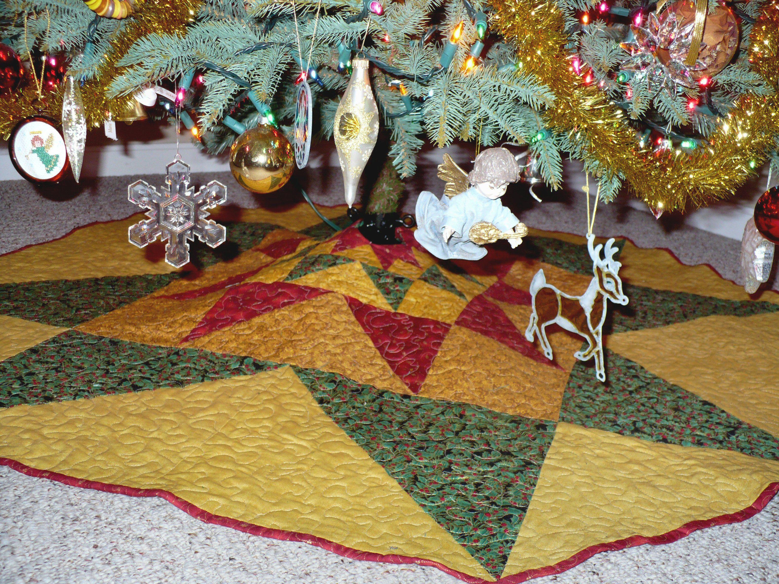 Christmas Tree Skirt 2009