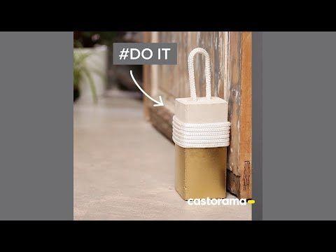 DIY  fabriquez un cale-porte en béton - Castorama Aménagez votre