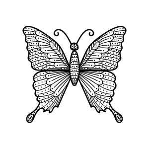 Mandala Schmetterling 5 Schmetterling Ausmalbilder Schmetterling Mandalas Zum Ausdrucken