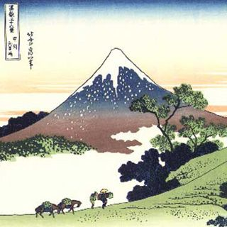 Image result for Japanese paintings and artwork Mount Fuji