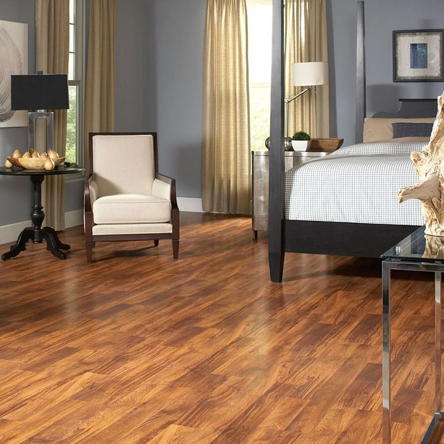 Shop Style Selections 8 03 In W X 3 96 Ft L Auburn Stained White Oak Diy Flooringlaminate
