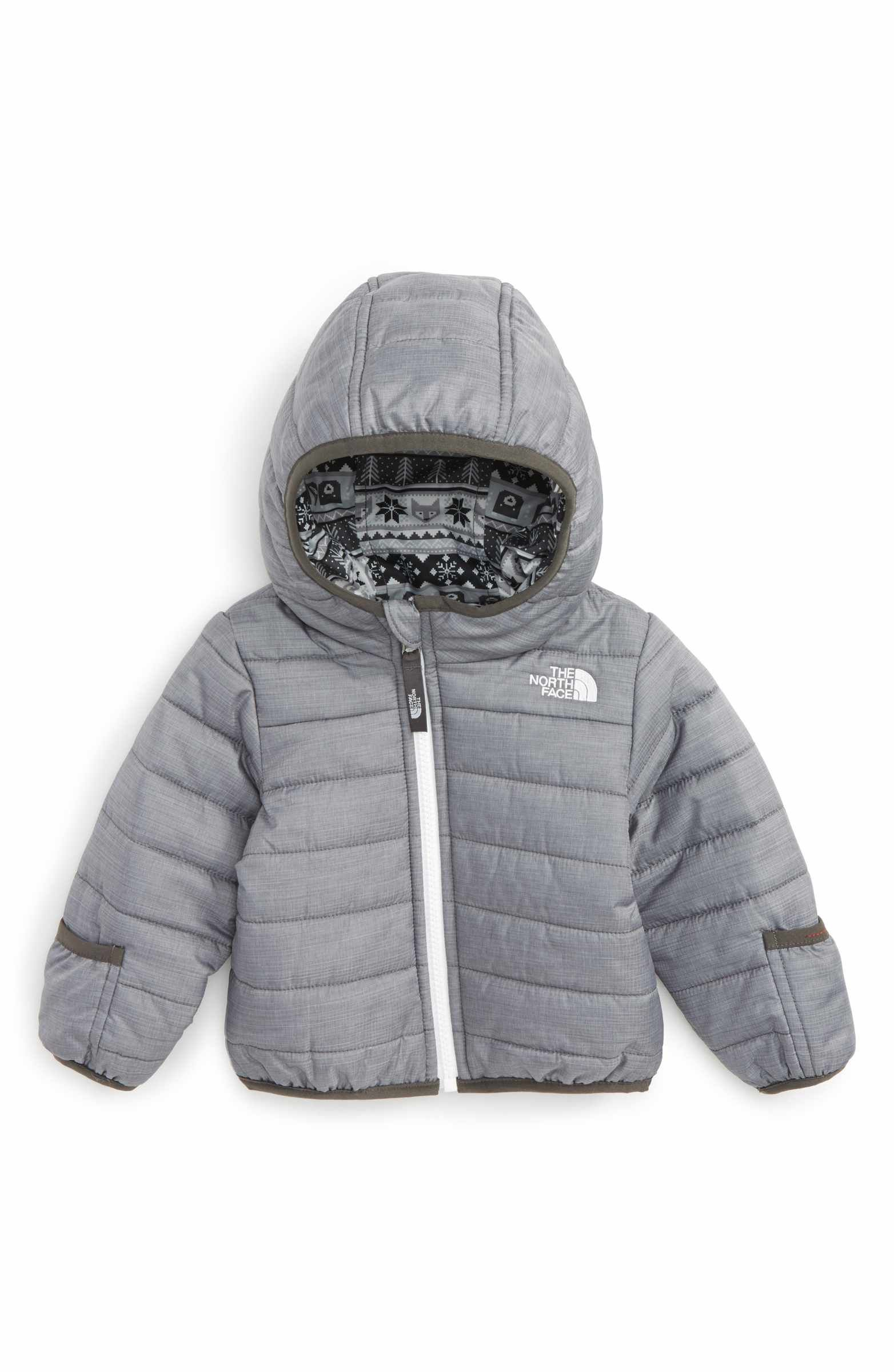 The North Face Perrito Reversible Water Repellent Hooded Jacket Baby Boys Nordstrom Baby Boy Jackets Toddler Jackets Boy Baby Jacket [ 2400 x 1564 Pixel ]