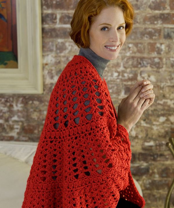 Best Free Crochet Free Have A Heart Shawl Crochet Pattern From