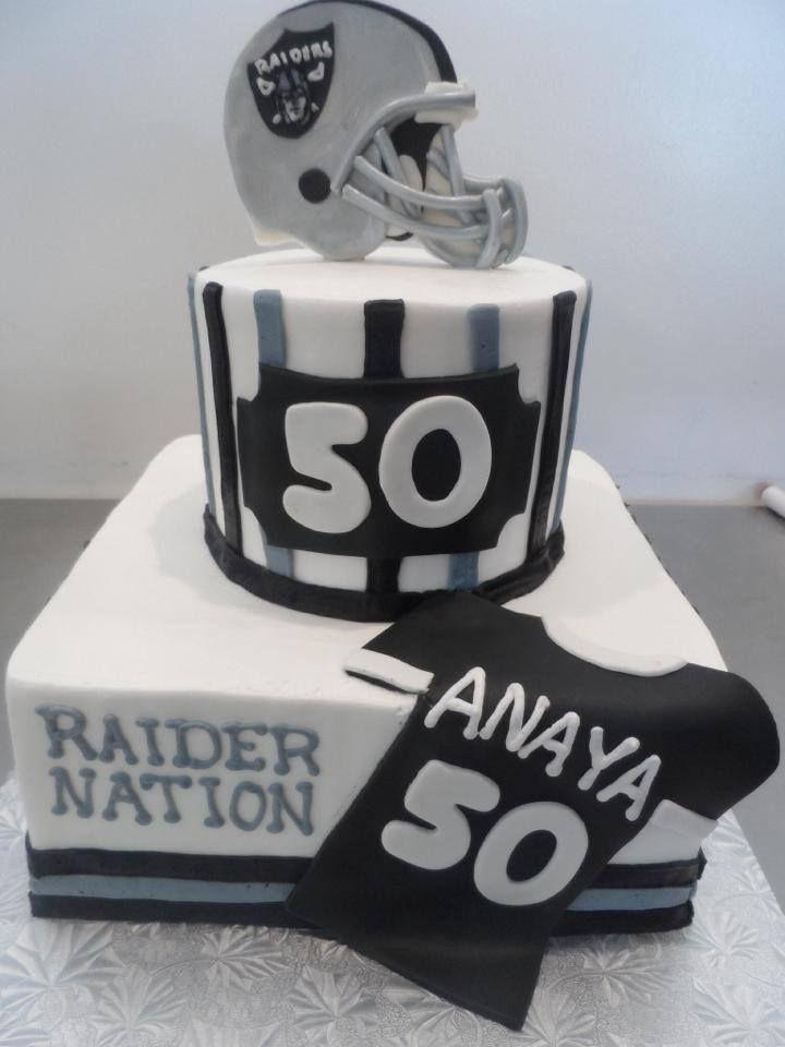Oakland Raiders Birthday Cake Gala Bakery San Lorenzo Ca Www