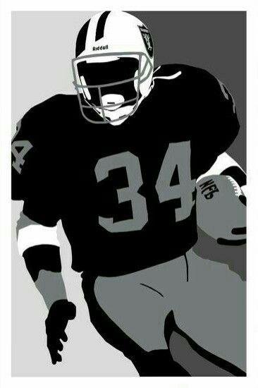 Bo Jackson Oakland Raiders Logo Oakland Raiders Football Raiders Players