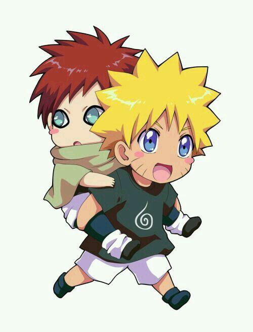 Naruto And Gaara Naruto Shippuden Naruto Shippuden Anime Anime Naruto Naruto Cute