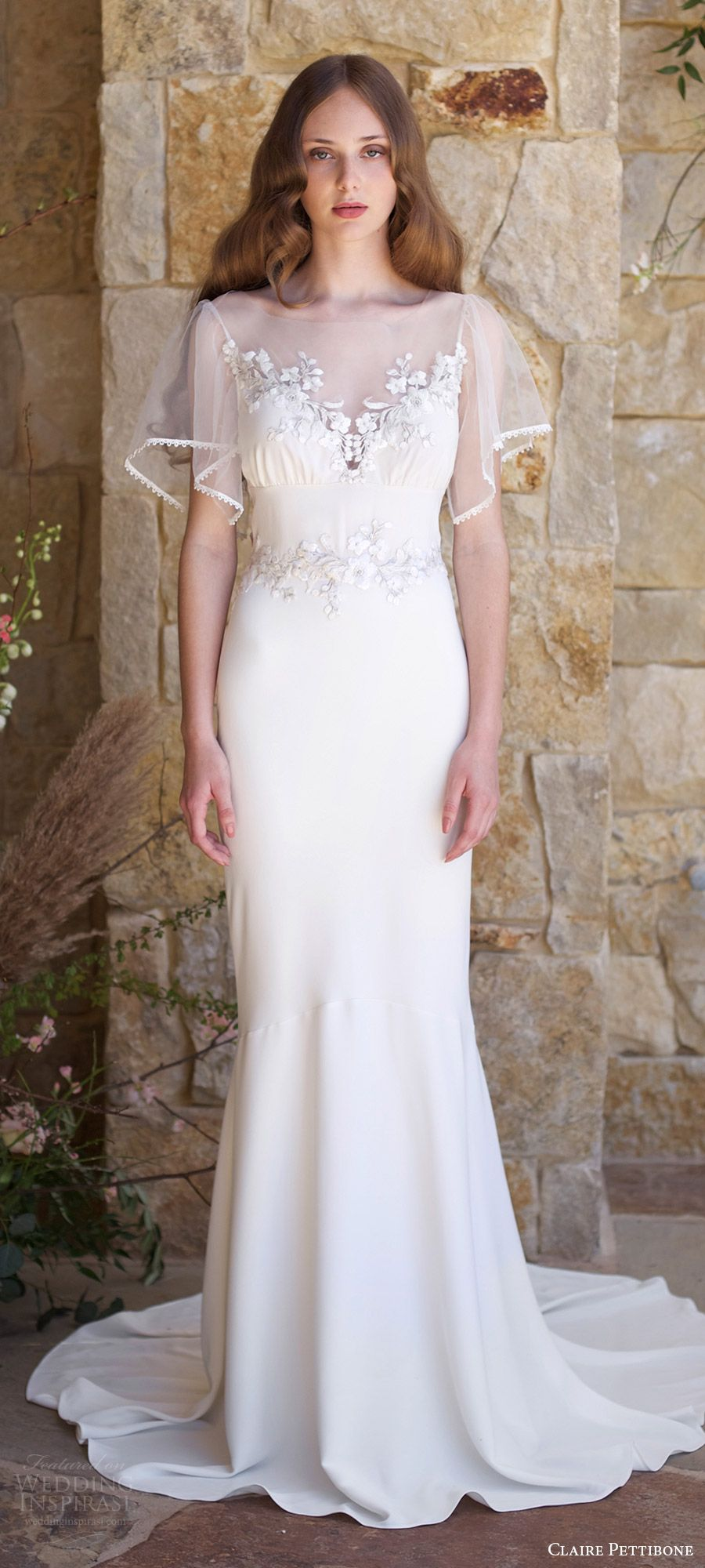 Claire Pettibone Romantique Spring 2018 Wedding Dresses — The ...
